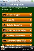 Screenshot of Smokey Bear