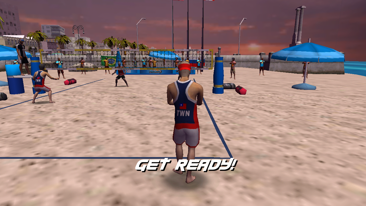 Volleyball Full Body Control- screenshot