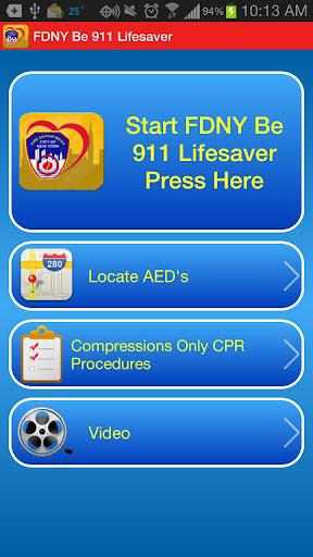 FDNY Be 911 Lifesaver