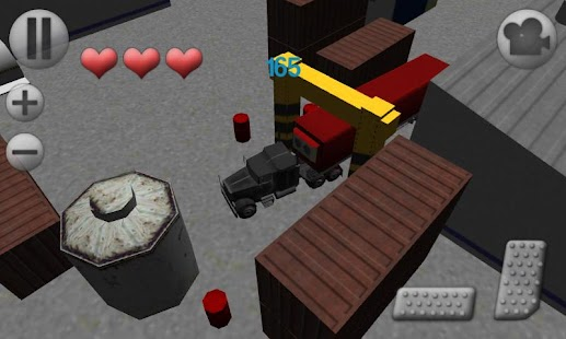 3D Truck Parking- screenshot thumbnail
