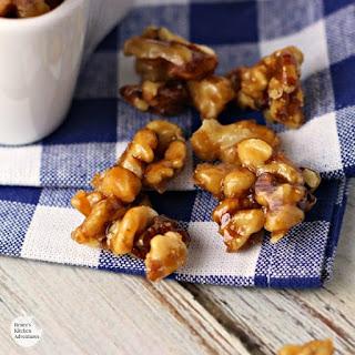 Maple Syrup Glazed Walnuts Recipe