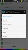 Screenshot of Apk Extractor
