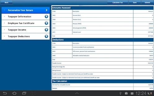 SARS Mobile eFiling - screenshot thumbnail