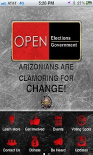 Open Elections Open Government - screenshot thumbnail