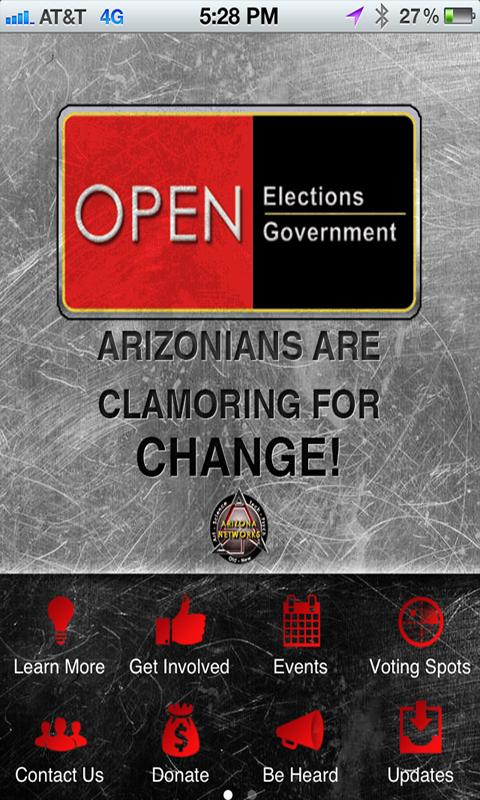 Open Elections Open Government - screenshot