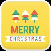 Merry Christmas go sms theme
