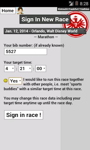 【免費運動App】feelRace - Who races where?-APP點子
