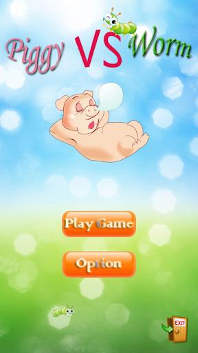 Piggy VS Worm