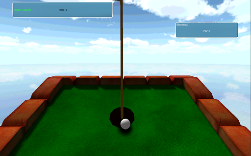 Mini Golf Sport Fun Simulator