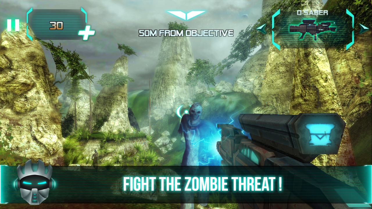 Dead Galaxy : Zombie Trigger- screenshot