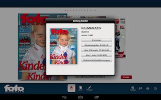 Screenshot of fotoMAGAZIN