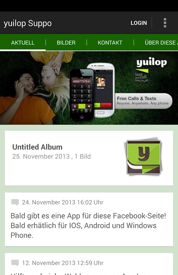 yuilop Support by lieblich - screenshot