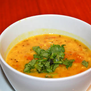 Masoor Dal (Red Lentil Soup).