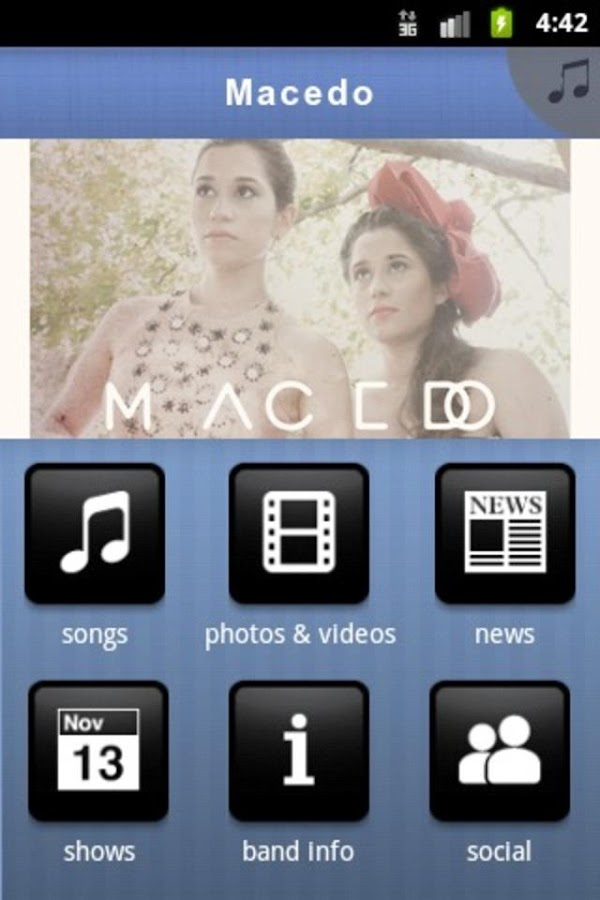 Macedo - screenshot