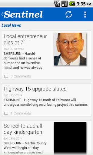 Fairmont Sentinel