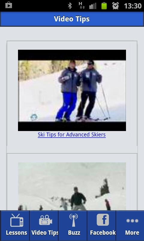 Skiing Video Lessons FREE - screenshot