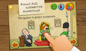 Screenshot of Carton Tongue Twisters English