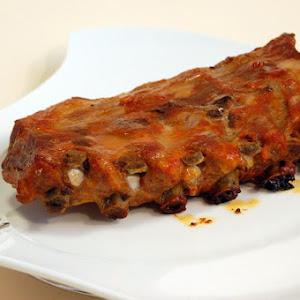 Juicy Barbecued Ribs