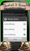 Screenshot of Magic Money Tree Wallpapers