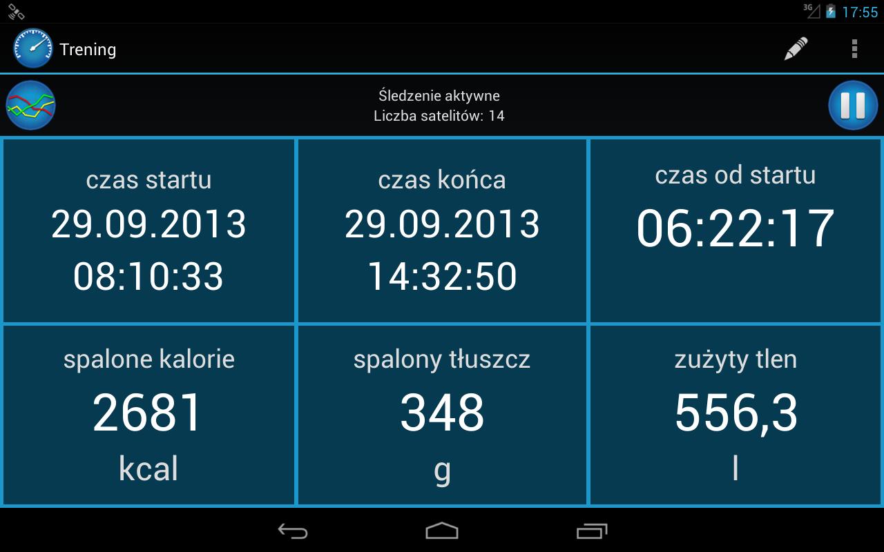 CycleDroid – licznik rowerowy - screenshot