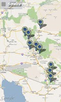 Screenshot of Moto mApps Arizona