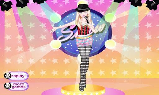 摇滚明星装扮—索菲亞