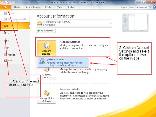 MIS Outlook 2010 Tutorial