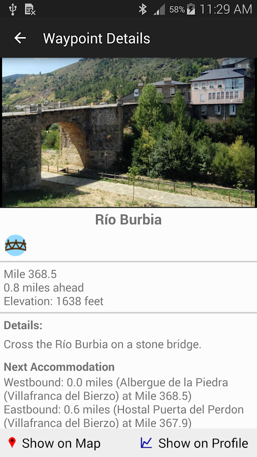 Camino de Santiago Companion- screenshot