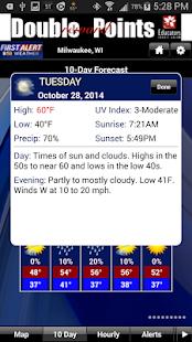 CBS58 Weather - screenshot thumbnail