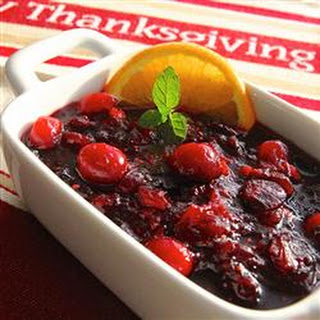 Patti's Triple Cranberry Sauce