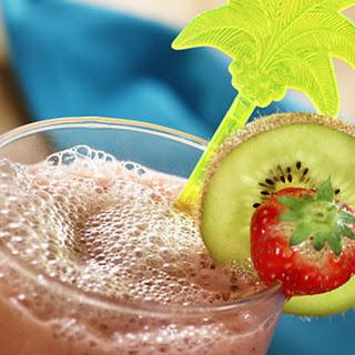 Kiwi-aardbeiensmoothie