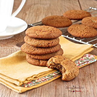 Soft and Chewy Ginger Cookies (gluten & grain free).