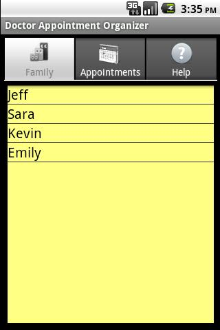 Doctor Appointment Organizer- screenshot