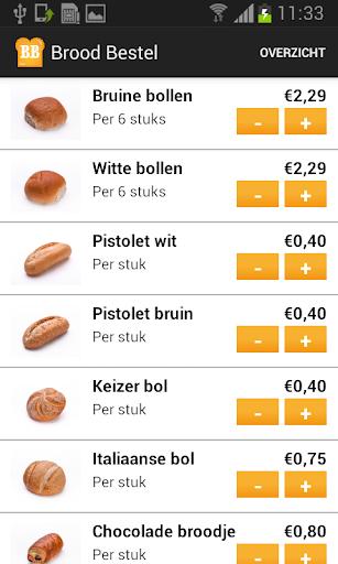 Brood Bestel App