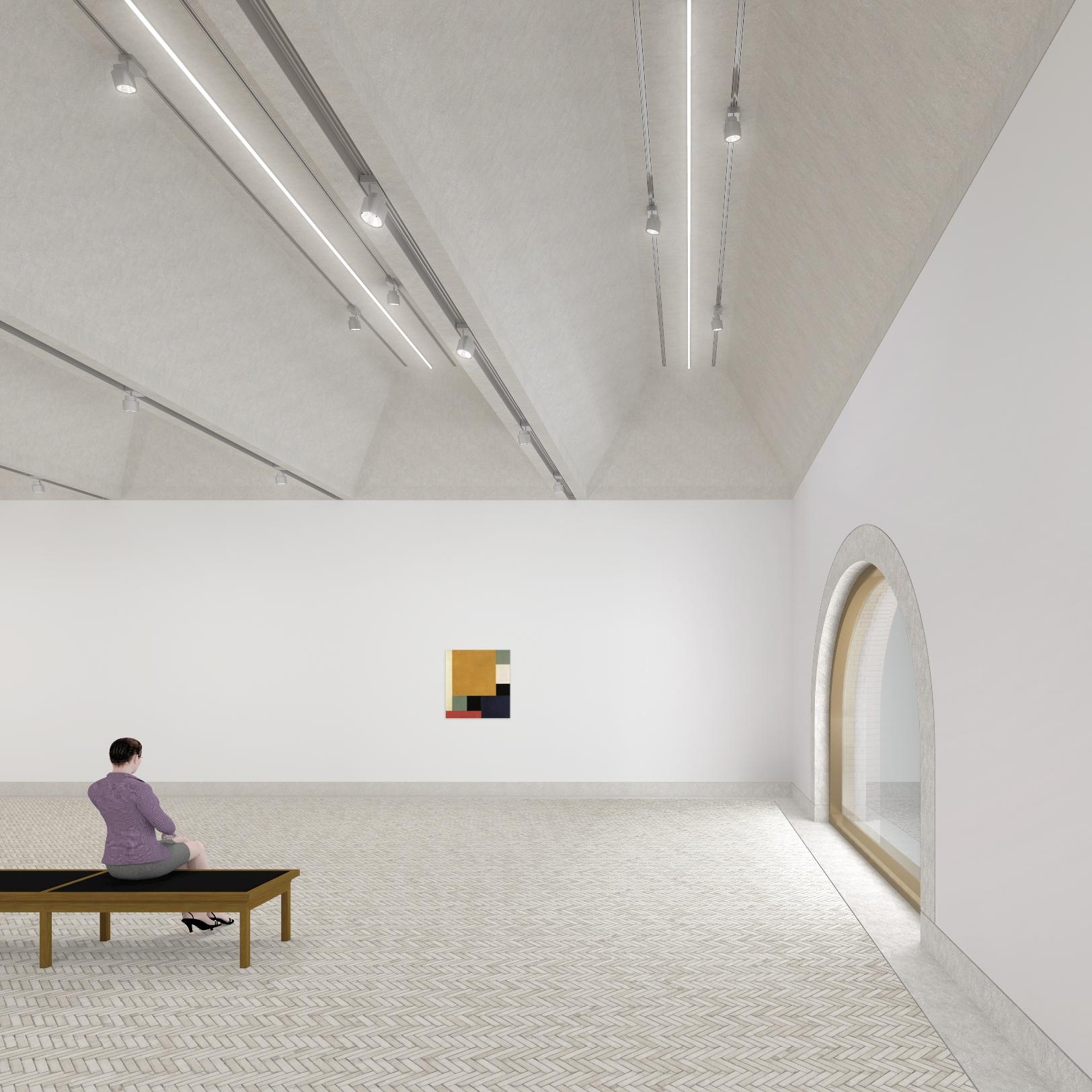 Impressie nieuwe tentoonstellingszaal