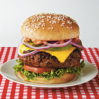 Out-n-In California Burger.