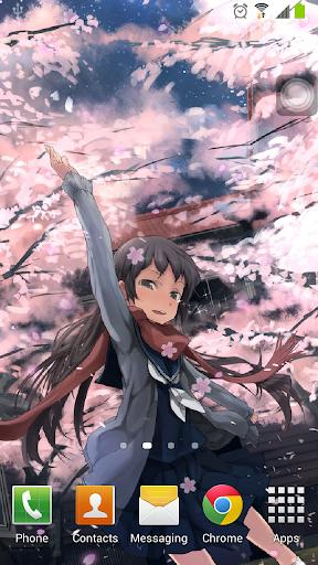 櫻花樹下動態桌布 - 无广告