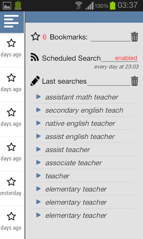 Pocket Job Search - Vacancies - screenshot