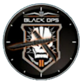 Black Ops II Analog Clock