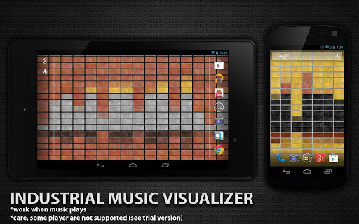 工業音樂可視化
