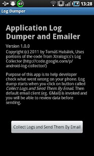Log Dumper and Emailer - screenshot thumbnail