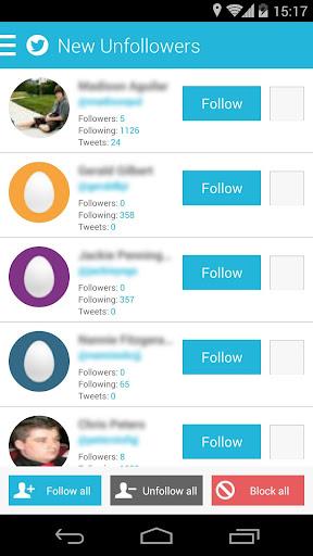 Twitter Follow Unfollow Tool