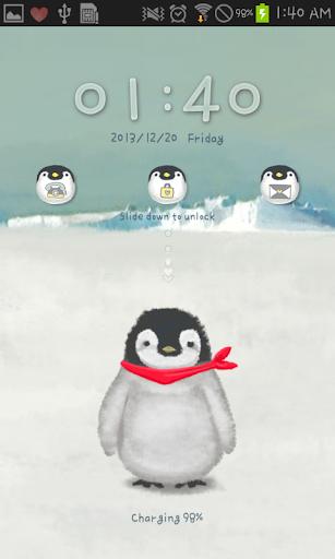 Baby emperorpenguin go locker