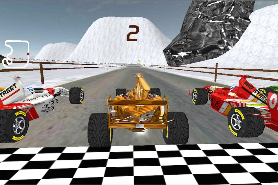 Super Crazy Formula Racing 3D- screenshot