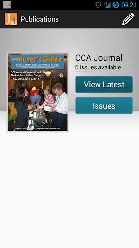 The CCA Journal magazine