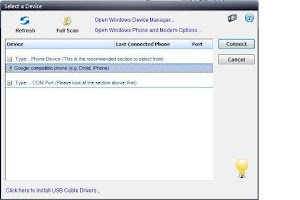 Screenshot of SyncCell - Outlook/Lotus Sync