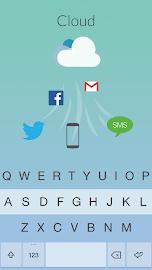 Fleksy Keyboard Screenshot 2