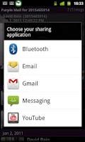 Screenshot of PurpleMail