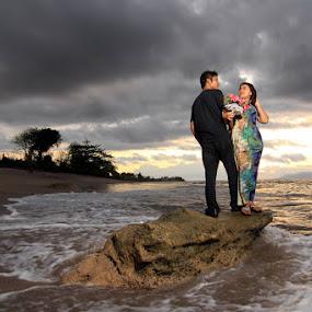 Romance by Erwan Setyawan - Wedding Bride & Groom