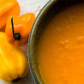 Habanero Hot Sauce.